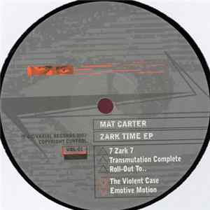 Mat Carter - Zark Time EP Album