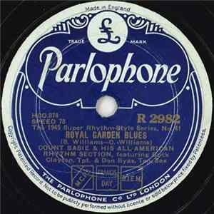 Count Basie & His All-American Rhythm Section / Count Basie & His Orchestra - Royal Garden Blues / The Jitters Album